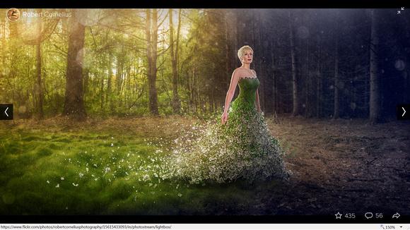 природа дамы фото